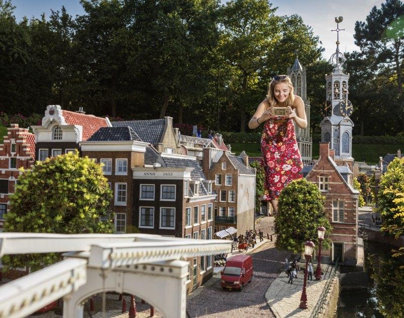 Nederlandse steden in het klein