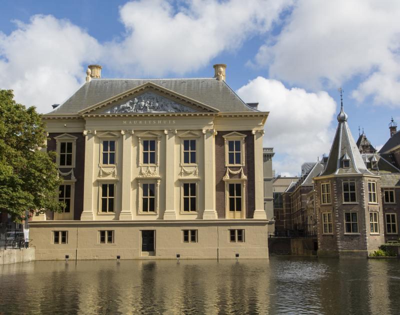 Mauritshuis aan de Hofvijver